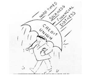 Kinetic Credit Union (TIC Credit Union), Logo Circa 1950s